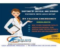 Shifting of Critical Patients with ACLS Setup by Falcon Train Ambulance in Jamshedpur