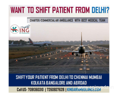 King Air Ambulance in Kolkata-Get the Big Advantage to Hire It