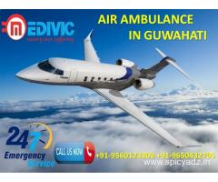 Take the Benefits by Medivic Air Ambulance in Guwahati at Low Charges