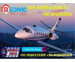 Medivic Air Ambulance in Mumbai with All Updated Medical Tools