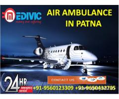 Utilize Advanced Air Ambulance in Patna with Best Medical Care