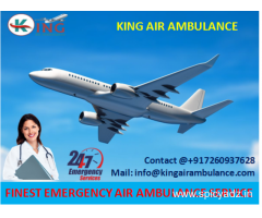 Hire King Air Ambulance Service in Jamshedpur with Full Medical Support