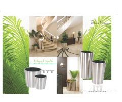 Stainless Steel Planter Manufacturer