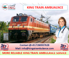 Pick up On Low Amount King Train Ambulance Kolkata to Chennai
