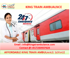 Hire Best King Train Ambulance Ranchi to Vellore with Complete ICU Facility