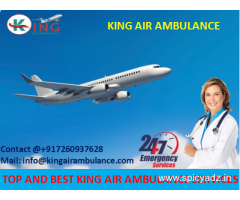 Get More Reliable Emergency Air Ambulance Services in Indore with Doctor by King