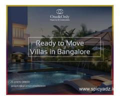 Luxurious Townhouses  in Bangalore-8747008800