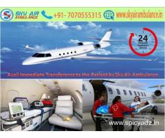 Book Sky Air Ambulance Service For Safe And Secure Transportation