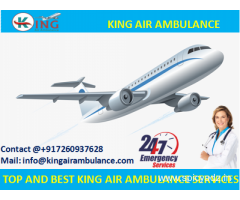 Book Most Affordable Air Ambulance in Varanasi by King at Low Cost