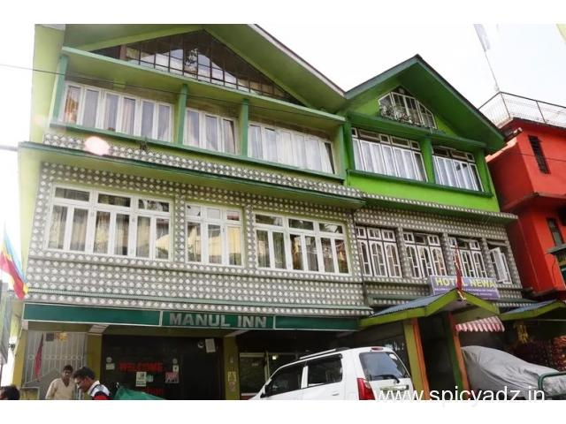 Get Hotel Manul Inn (STDC) in,Gangtok with Class Accommodation. - 1