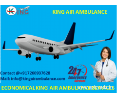 Get Most Advantages of Emergency Air Ambulance in Allahabad by King