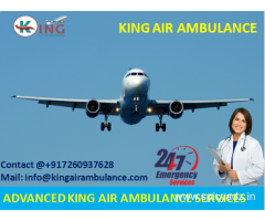 Hire Best King Emergency Air Ambulance in Bokaro with Full Benefits