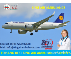 Take More Trustworthy-King Emergency Air Ambulance in Jamshedpur