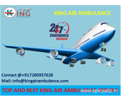 Get Most Economical Emergency Air Ambulance in Dibrugarh by King