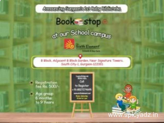 pre primary school in gurgaon   The Sixth Element - 1
