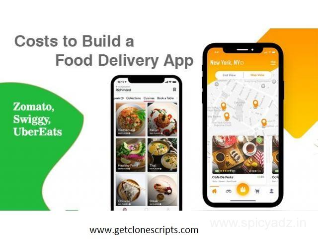 Top 10 Food Delivery Scripts for Food Startups in 2020 by Getclonescripts.com - 1