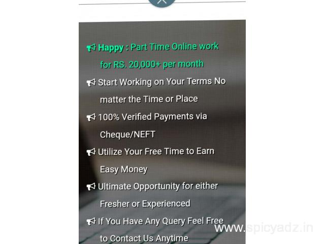 Careeralo is Hiring - Earn Rs.20,000+/- Per month - Simple Copy Paste Jobs - 1