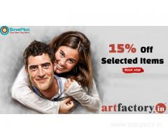 Artfactory Coupons: 15% Off Selected Items