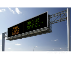 Digital display boards for road contractors.