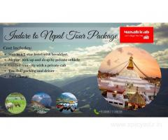 Indore to Nepal Tour Package, Nepal Tour Package from Indore