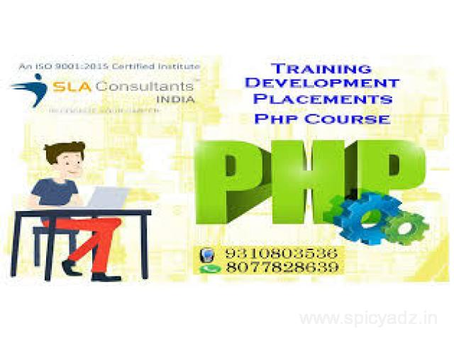 Achieve Your Goal with PHP Institute in Noida Centre from SLA Consultants Noida - 1