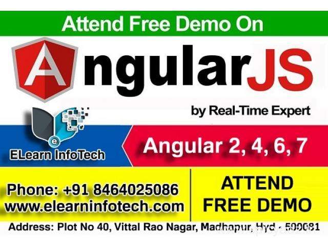 Top AngularJS Training Institutes in Madhapur Hitech City - 1