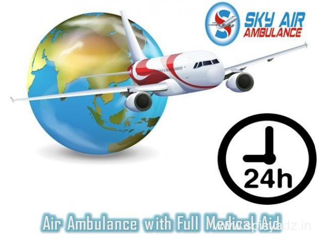 Book a Low-Cost and Developed Air Ambulance in Gorakhpur - 1