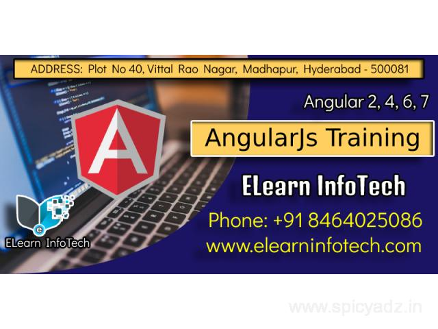 Angular Training Course in Madhapur Hitech City Hyderabad - 1