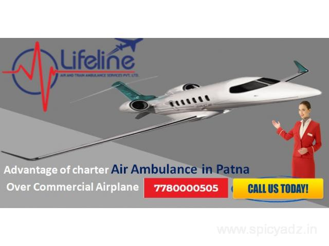 Book Lifeline Air Ambulance in Patna – Lowest Rate Fastest Service - 1