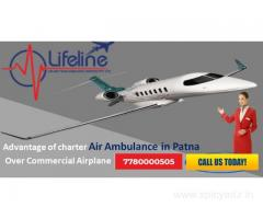 Book Lifeline Air Ambulance in Patna – Lowest Rate Fastest Service