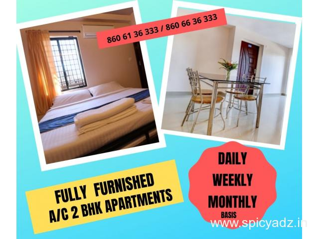 FULLY FURNISHED 2 BHK AC APARTMENTS - 1