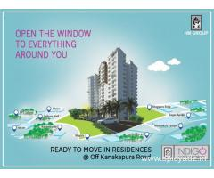 Ready to Move flats in JP Nagar-HM Indigo
