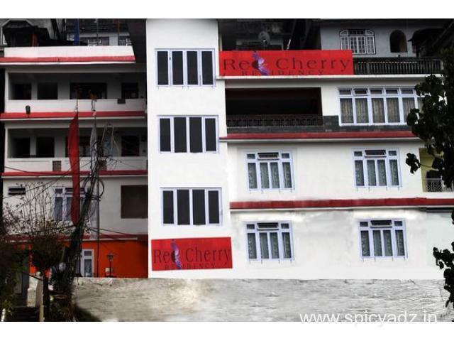 Get Red Cherry Residency (STDC) in,Gangtok with Class Accommodation. - 1