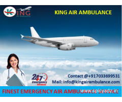 Get More Comfortable Air Ambulance from Jamshedpur to Delhi by King