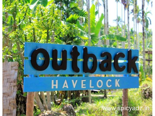 Get Outback Resorts in,Havelock Island with Class Accommodation. - 1