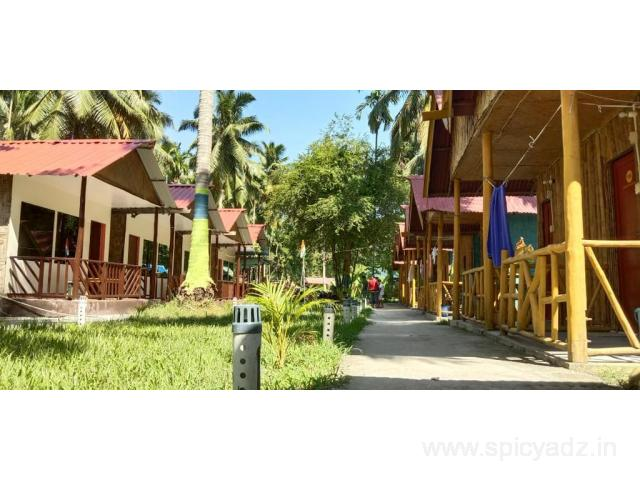 Get JK Resort in,HavelockIsland with Class Accommodation. - 1