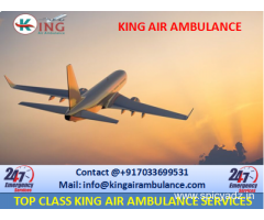 Get Finest King Emergency Air Ambulance from Dimapur to Delhi
