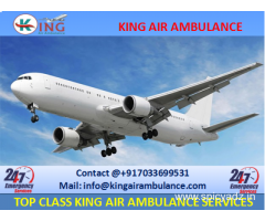 Get Complete ICU Setup Air Ambulance in Dimapur by King