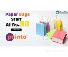 Printo Coupons: Paper Bags Start At Rs.90