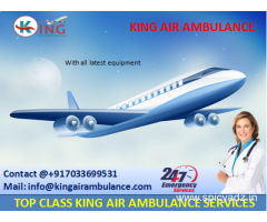 Hire Complete ICU Setup Air Ambulance Services in Bagdogra by King