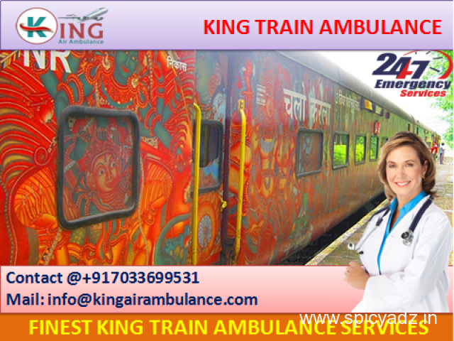 Get Perfect King Emergency Train Ambulance from Chennai with Doctor - 1