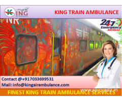 Get Perfect King Emergency Train Ambulance from Chennai with Doctor