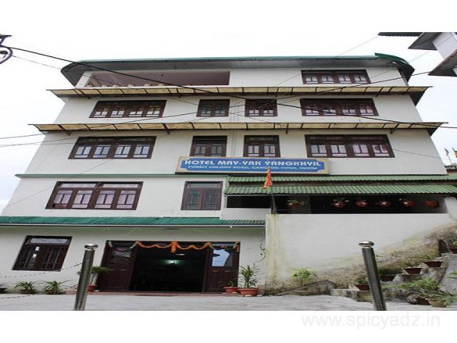 Get Hotel May-Yak Yangkhyil in,Gangtok with Class Accommodation. - 1