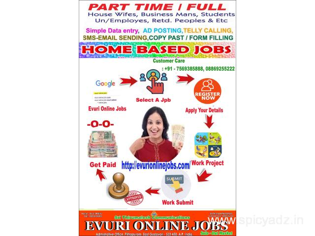 Hurry up attractive offers offline part time jobs - 1