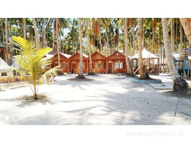 Get Shangrilas Beach Resort in,Havelock Island with Class Accommodation. - 1