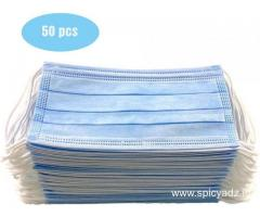 Disposable Face Masks for sale -Anti Corona Virus Masks / 3ply Surgical Face Mask