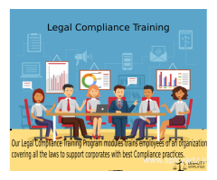 Legal Compliance Training in india | employee compliance training programs