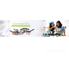 Stainless Steel Cookware Collections of Cookware Sets Online