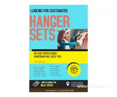 Buy latest collection of customized hangers| Hangrover
