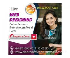 web designing Course online training in Hyderabad